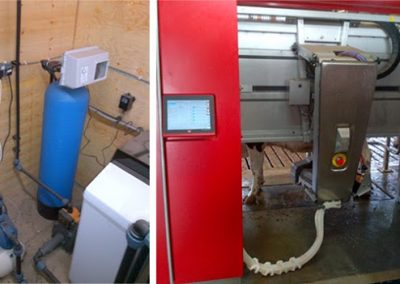 Robot milking machine